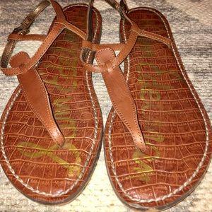 Sam Edelman brown leather sandals size 7.5